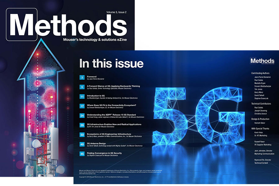 Latest Issue: The Future with 5G preview