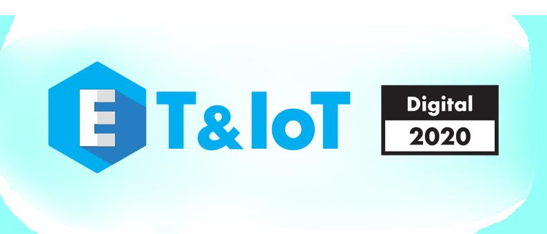 ET/IoT Digital 2020出展