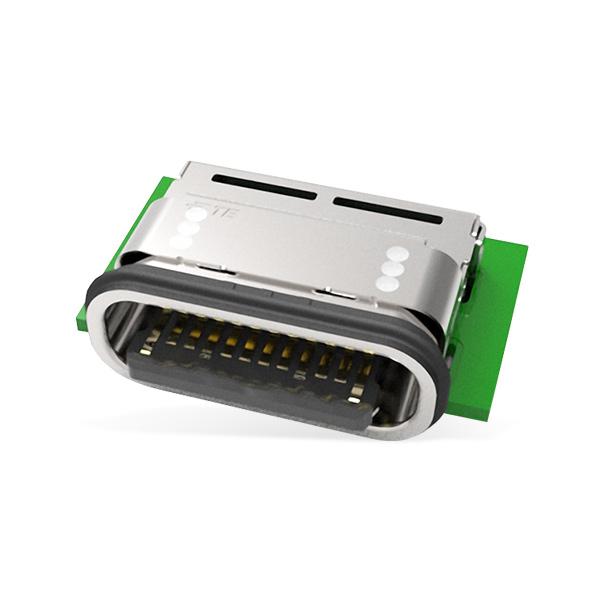 IPX8 Waterproof USB Type C Onboard Receptacle