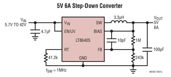 LT8640s Circuit