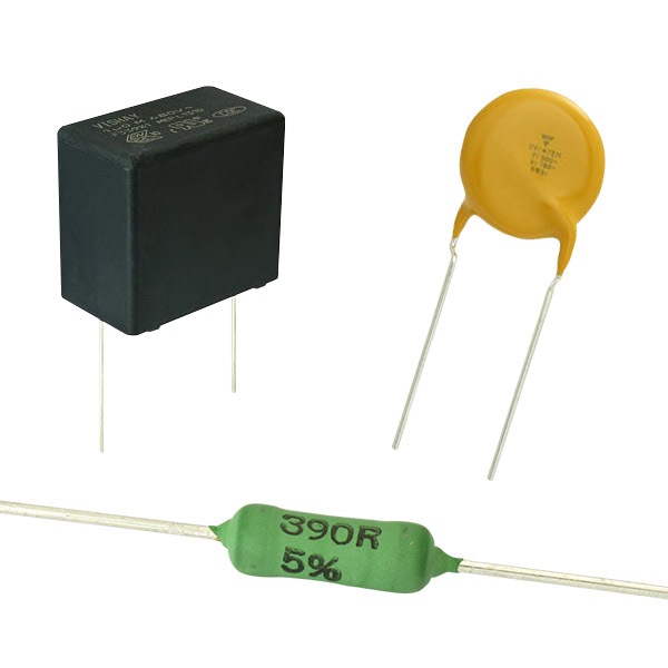 >Vishay Safety Capacitors and Resistors