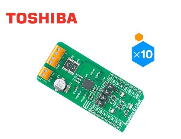 Toshiba - Mikroe Brushless 7 Click